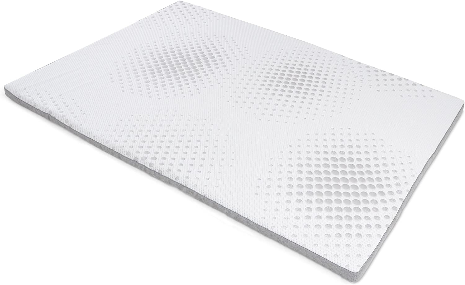 Milliard 2-Inch Gel Memory Foam Mattress Topper
