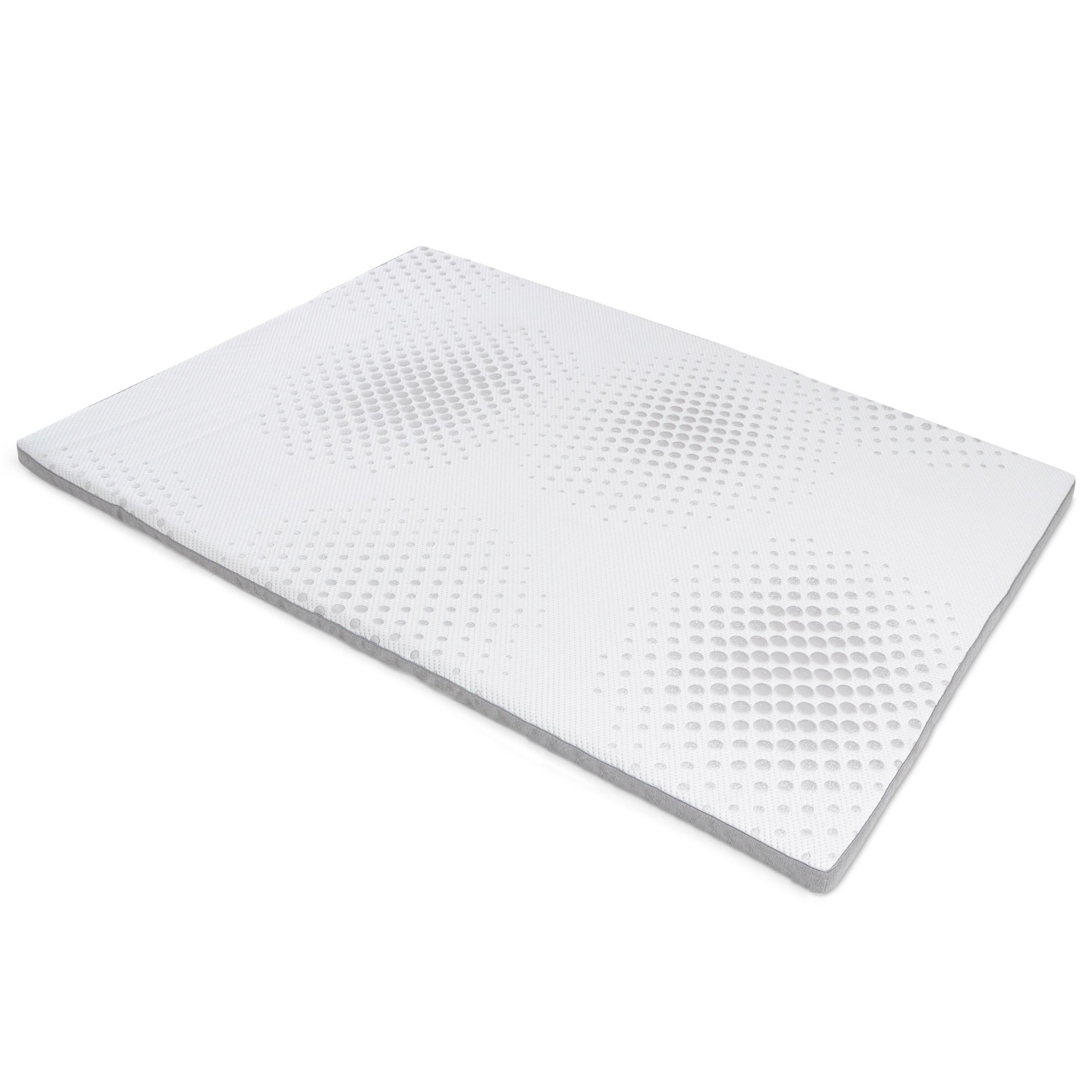 Milliard 2-Inch Gel Memory Foam Mattress Topper - Featuring a Washable and Removable Soft Bamboo Cover - Full - 73''x52''x2''