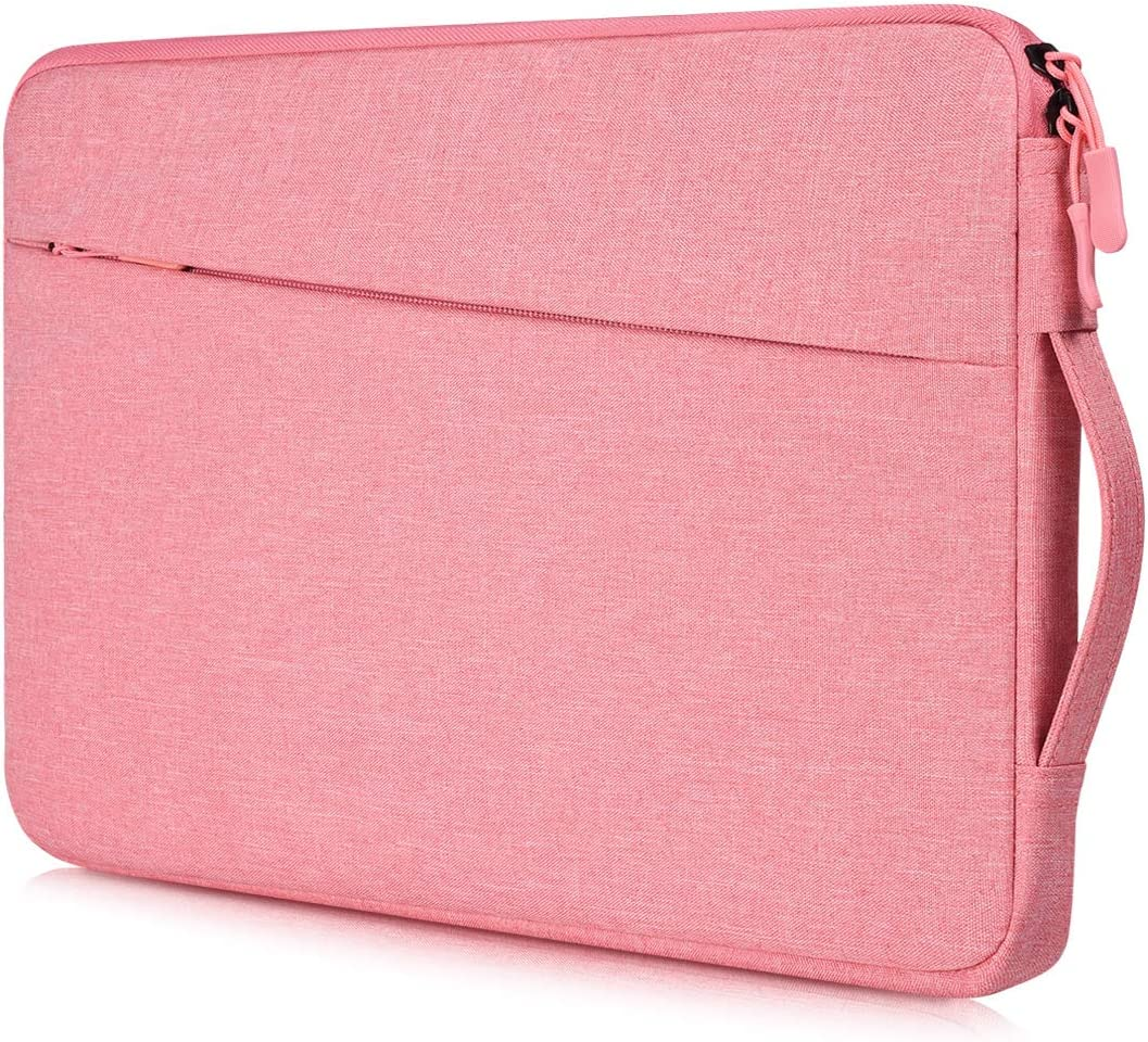 17.3 Inch Laptop Case Bag Women Ladies Laptop Briefcase with Handle for HP Envy 17/Pavilion 17/OMEN 17.3, Dell G3 G7 17.3/Dell Inspiron 17, Acer Aspire 17, Lenovo ASUS ROG MSI GS75 GF75 17.3 Bag, Pink