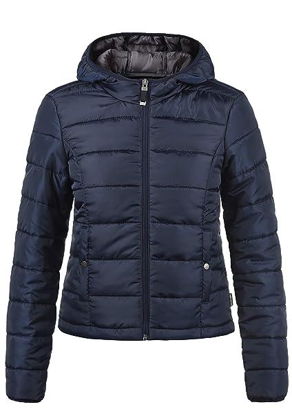 lebendig und großartig im Stil neu kaufen autorisierte Website VERO MODA Pamela Damen Übergangsjacke Steppjacke leichte Jacke gefüttert  mit Kapuze