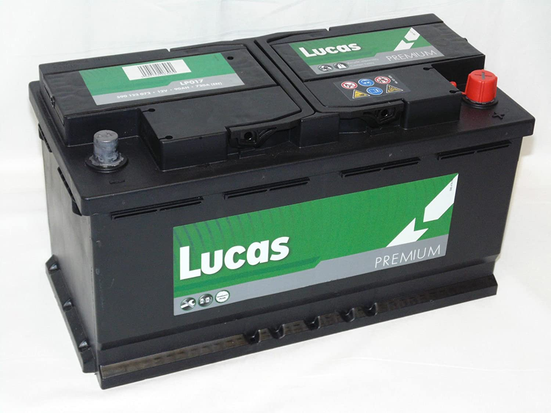 Lucas Lp 017 12v 90ah 720a Car Battery Volvo S80 Diesel