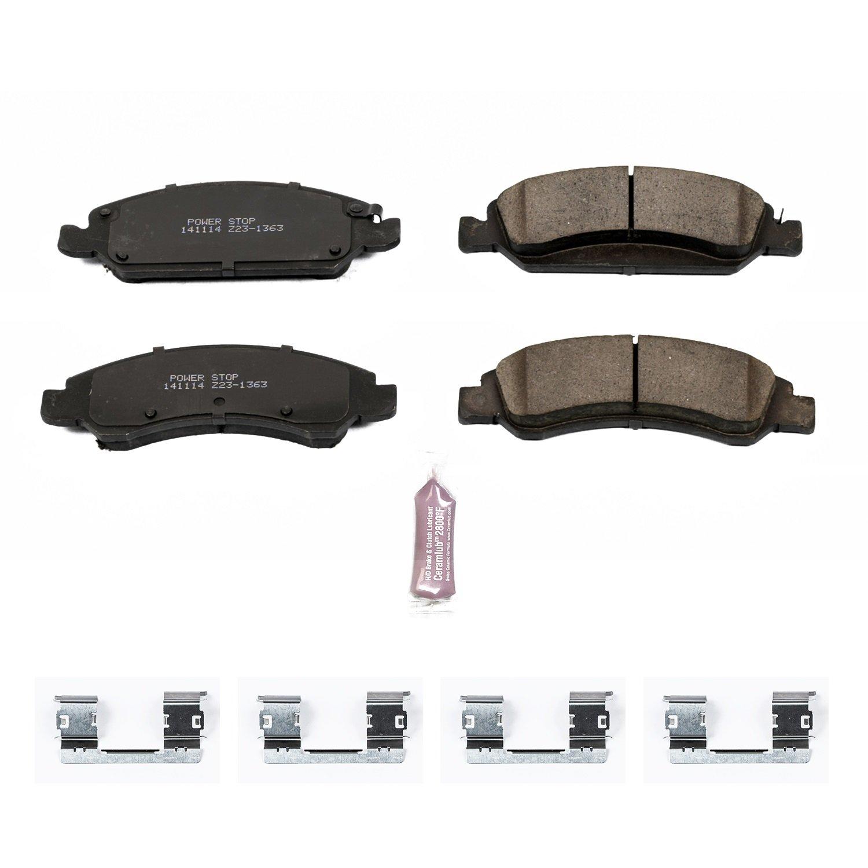 Amazon Power Stop Z23 1363 Z23 Evolution Sport Brake Pads