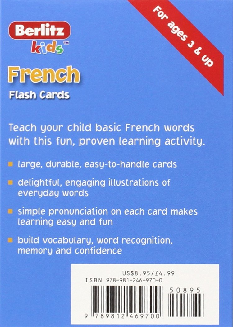 French Flash Cards by Berlitz Publishing (Image #1)