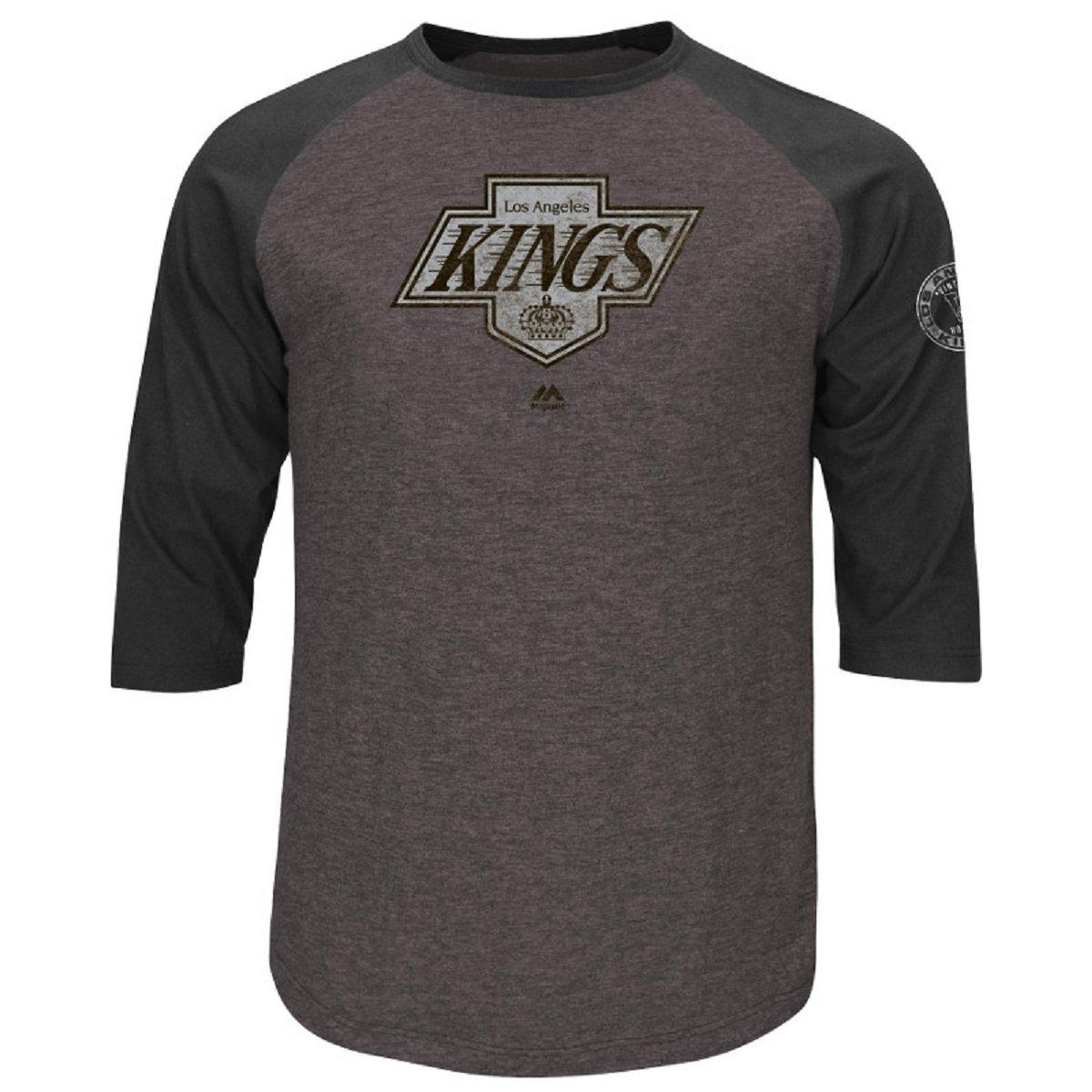 【受注生産品】 Los Angeles Kings L Ready to to GoヴィンテージラグラントライブレンドTシャツ( L B01CH6EQUE ) B01CH6EQUE, 神戸風月堂:c26bf154 --- a0267596.xsph.ru