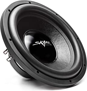 "Skar Audio IX-12 D4 12"" 500 Watt Max Power Dual 4 Ohm Car Subwoofer"