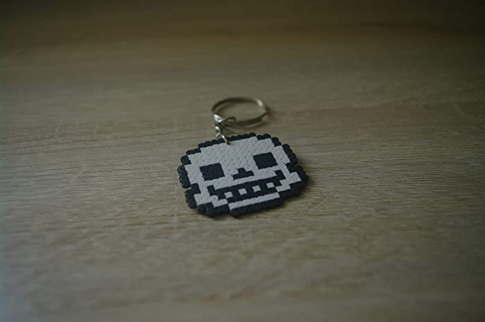 Amazon.com: Keychain Sans Undertale - Hama beads/Pixel Art ...
