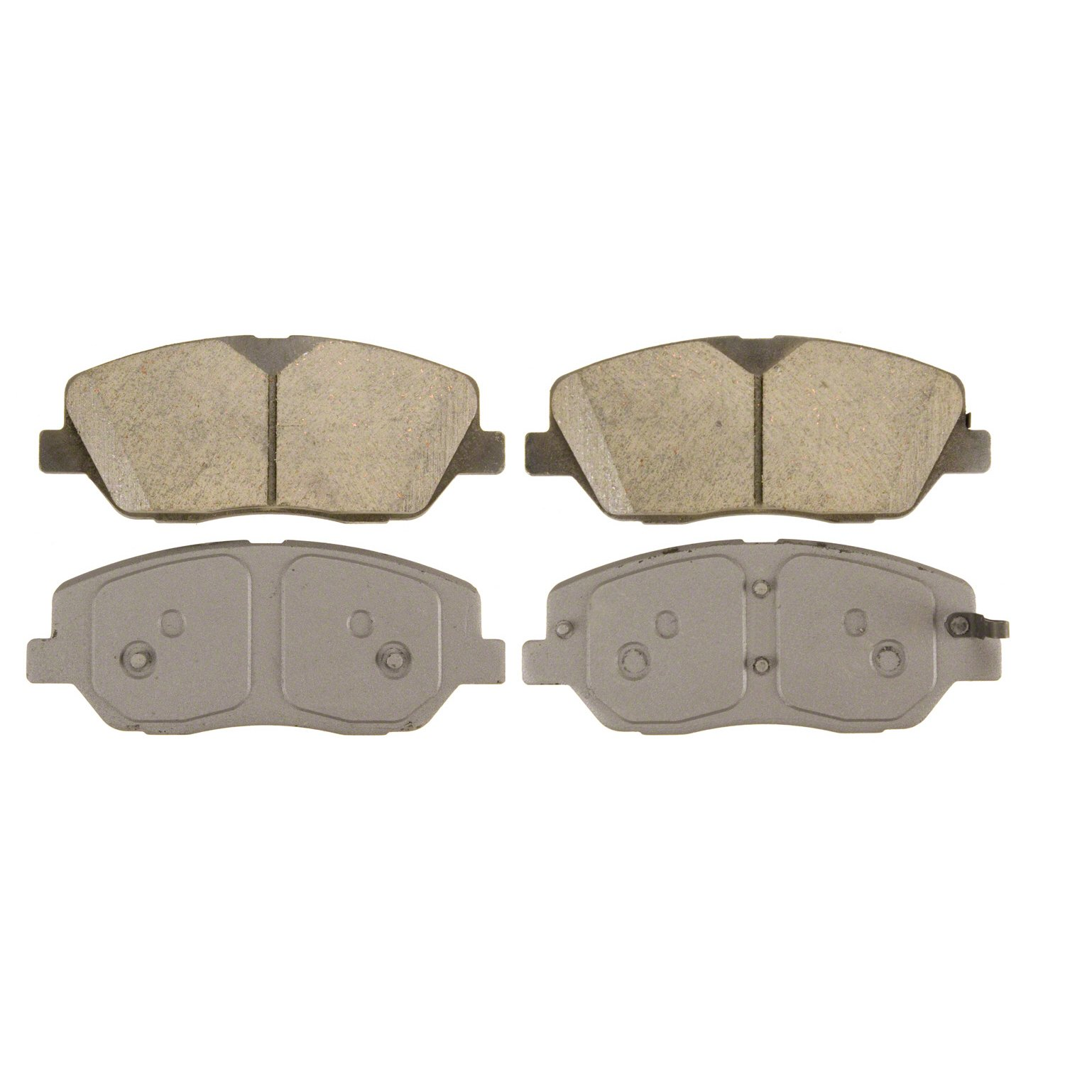 Disc Brake Pad Set-ThermoQuiet Disc Brake Pad Front Wagner QC908