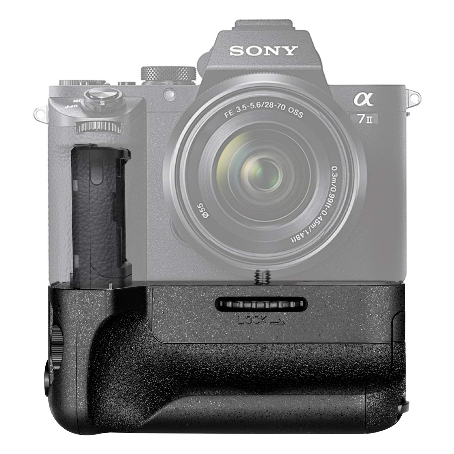 Newmowa VG-C1EM Replacement Vertical Battery Grip for Sony a7 a7r a7s Digital SLR Camera