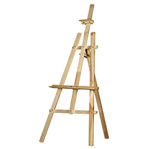 12 Pieces Wood Display Easel Sicai 6 Inch Wedding Place Name Holder Menu Board Mini Set for Painting Craft Drawing