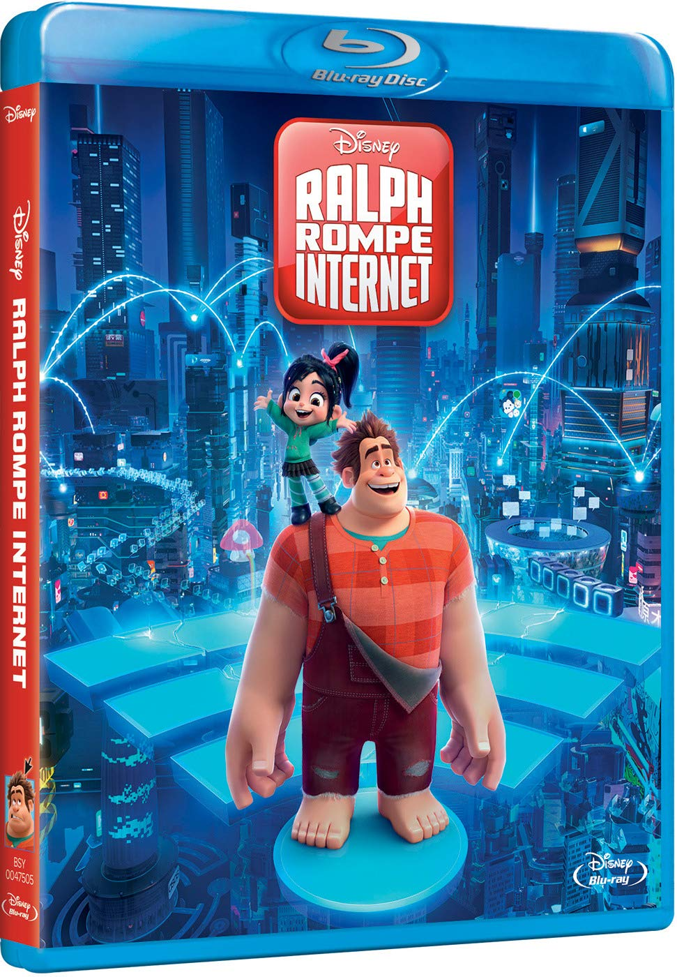 Ralph rompe internet en Blue-ray