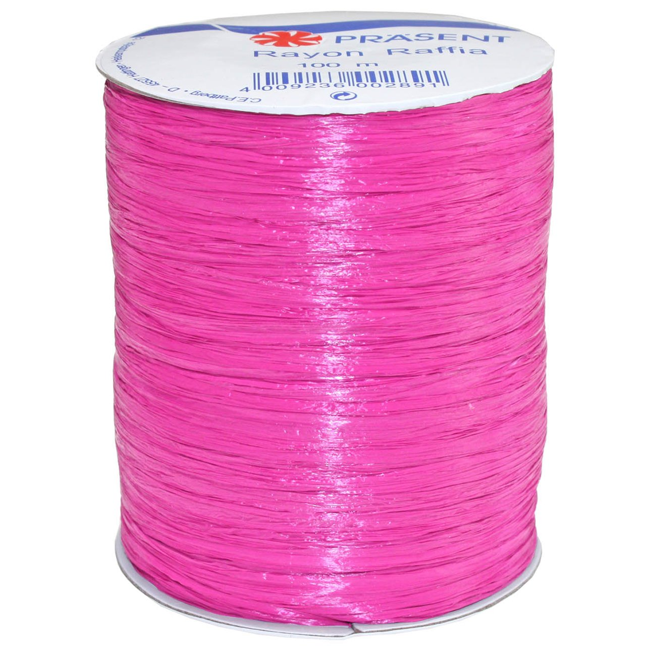 100-Yard White Morex Ribbon Rayon Raffia Fabric Ribbon Spool