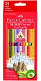 Faber-Castell Grip Colored EcoPencils -24 ct
