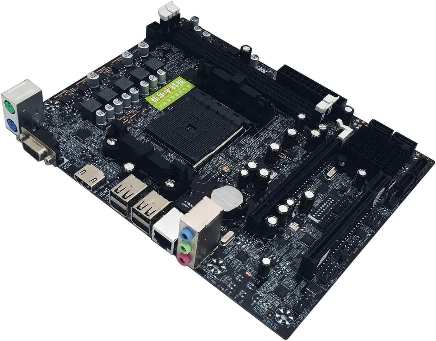 MeterMall Motherboards A88 Desktop Motherboard FM2 Desktop Motherboard Support DDR3 16G Support 7650K VGA HDMI SATA3.0
