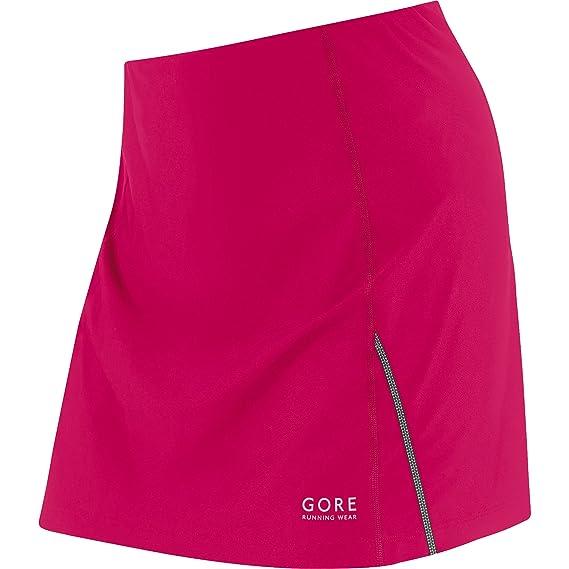 Gore Running Wear Essential Lady - Falda para Mujer, Color Rosa ...