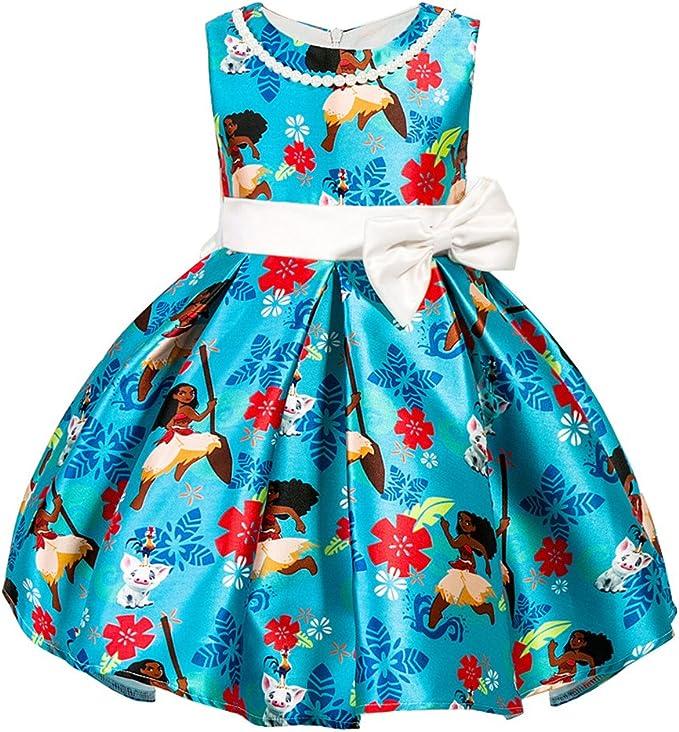Abiti Eleganti Desigual.Vestito Bambina Blu Abiti Corto Fiori Frozen Estivi Vestiti