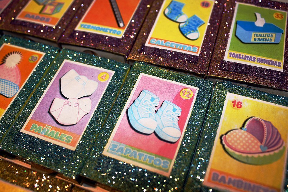 Amazon.com: Mexican Baby Shower Spanish Loteria Matchbox Party Favors - Set of 50: Handmade