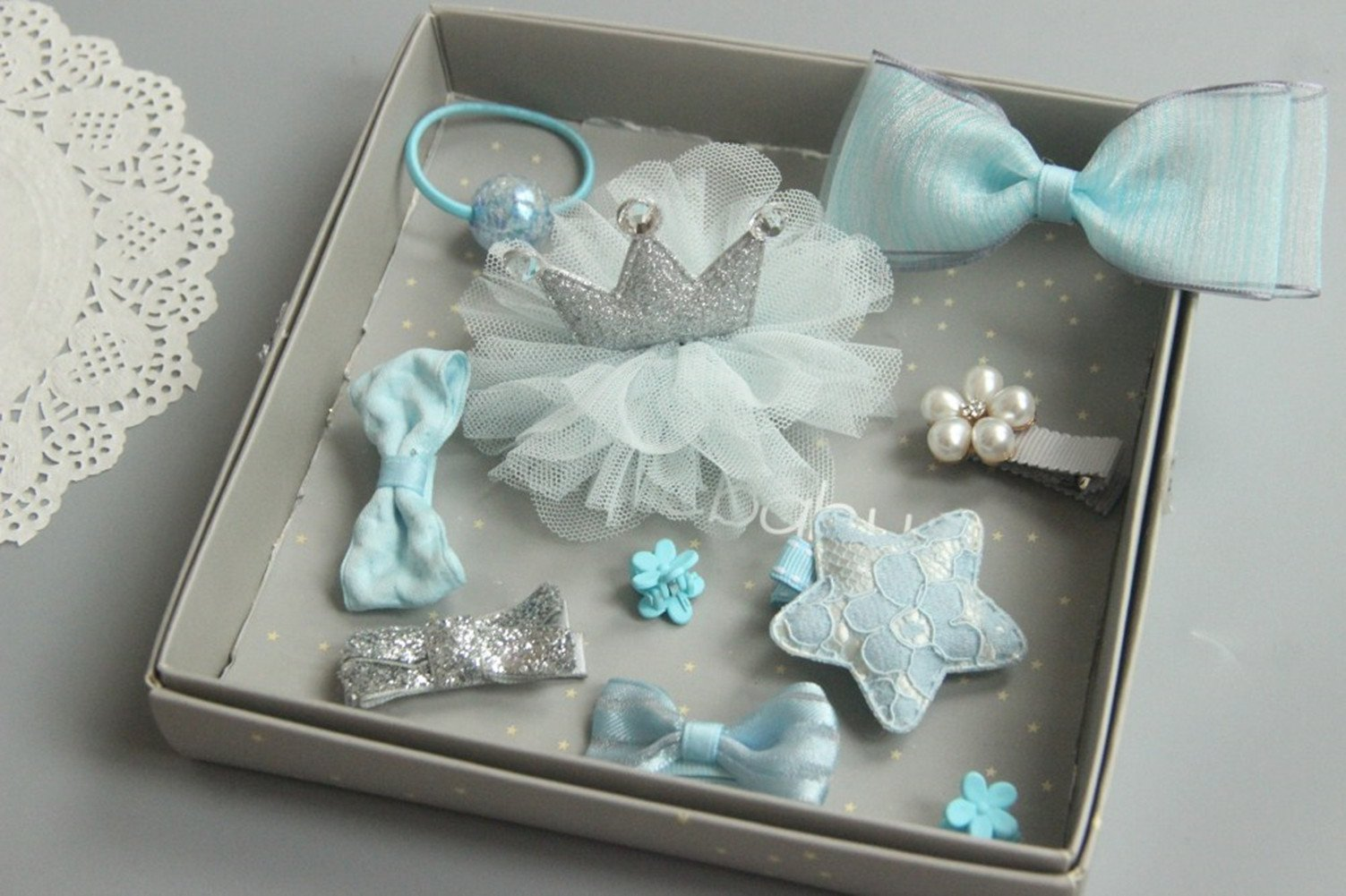 10pcs boutique baby hair clips