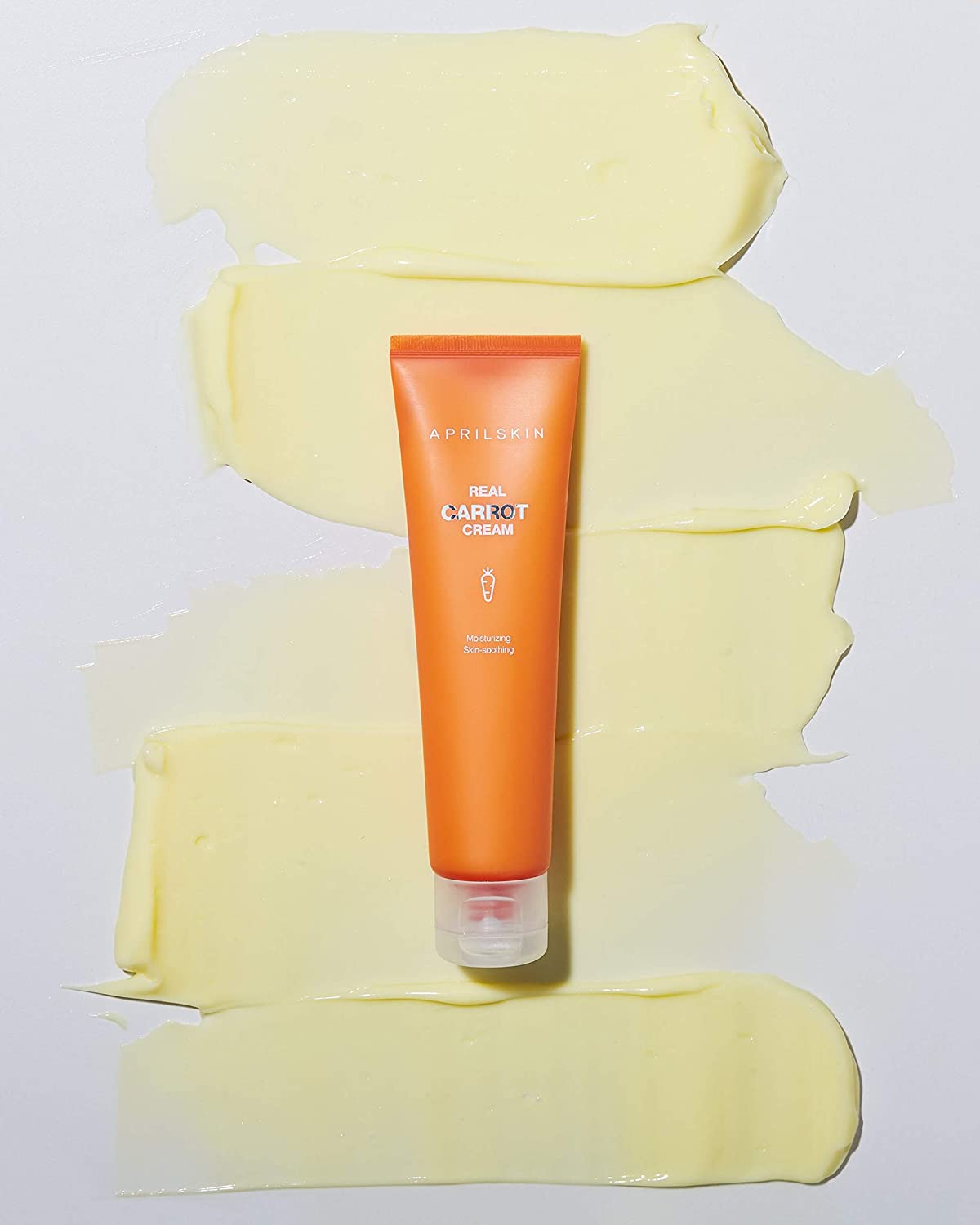 APRILSKIN Carrot Blemish Cream | Oily, sensitive, acne-prone skin | Removes blemishes, moisture balancing & skin protecting with M-Peptide | 2.02 oz | Cruelty-Free, No sulfates and artificial fragrance
