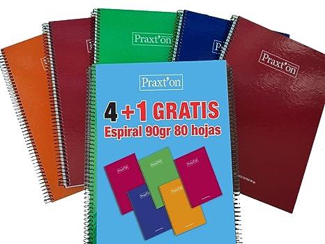 766ed5b524 Cuadernos Espiral PRAXTON