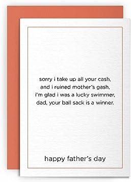 Funny Birthday Joke Rude Funny Card Wife GF Daughter Sister Farts Farting