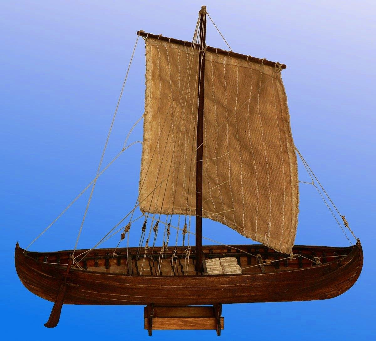 Amazon.com: Vikingo Knarr – Modelo Ship Kit por Dusek: Toys ...