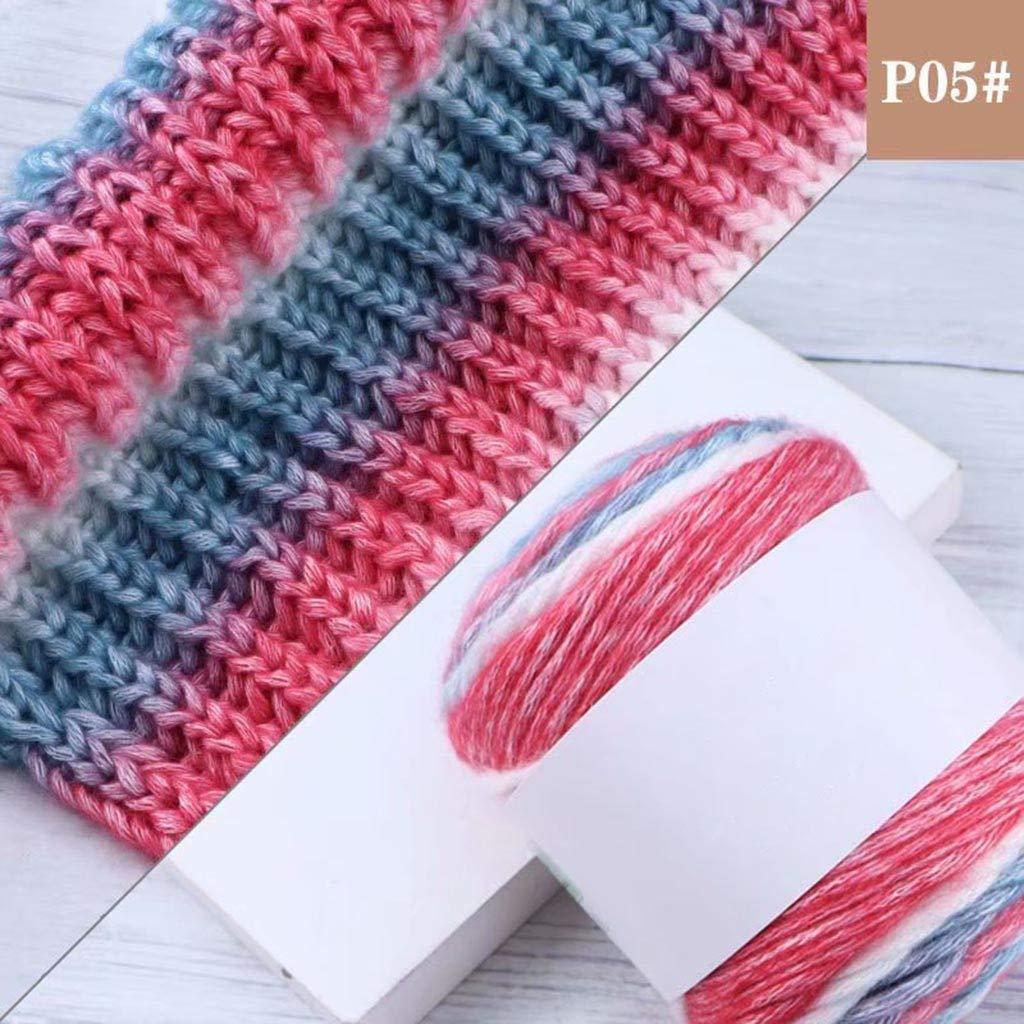 Amazon.com: Tentenny Duan teñido arco iris línea de color ...