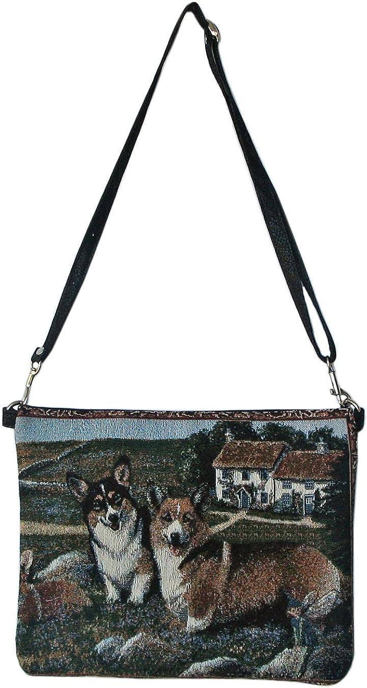 Women/'s Shoulder Bag Multicolored for Dog Lovers Gone Doggin Pembroke Corgi Daybag #4