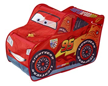 Disney Cars Lightning McQueen Feature Tent  sc 1 st  Amazon.com & Amazon.com: Disney Cars Lightning McQueen Feature Tent: Toys u0026 Games