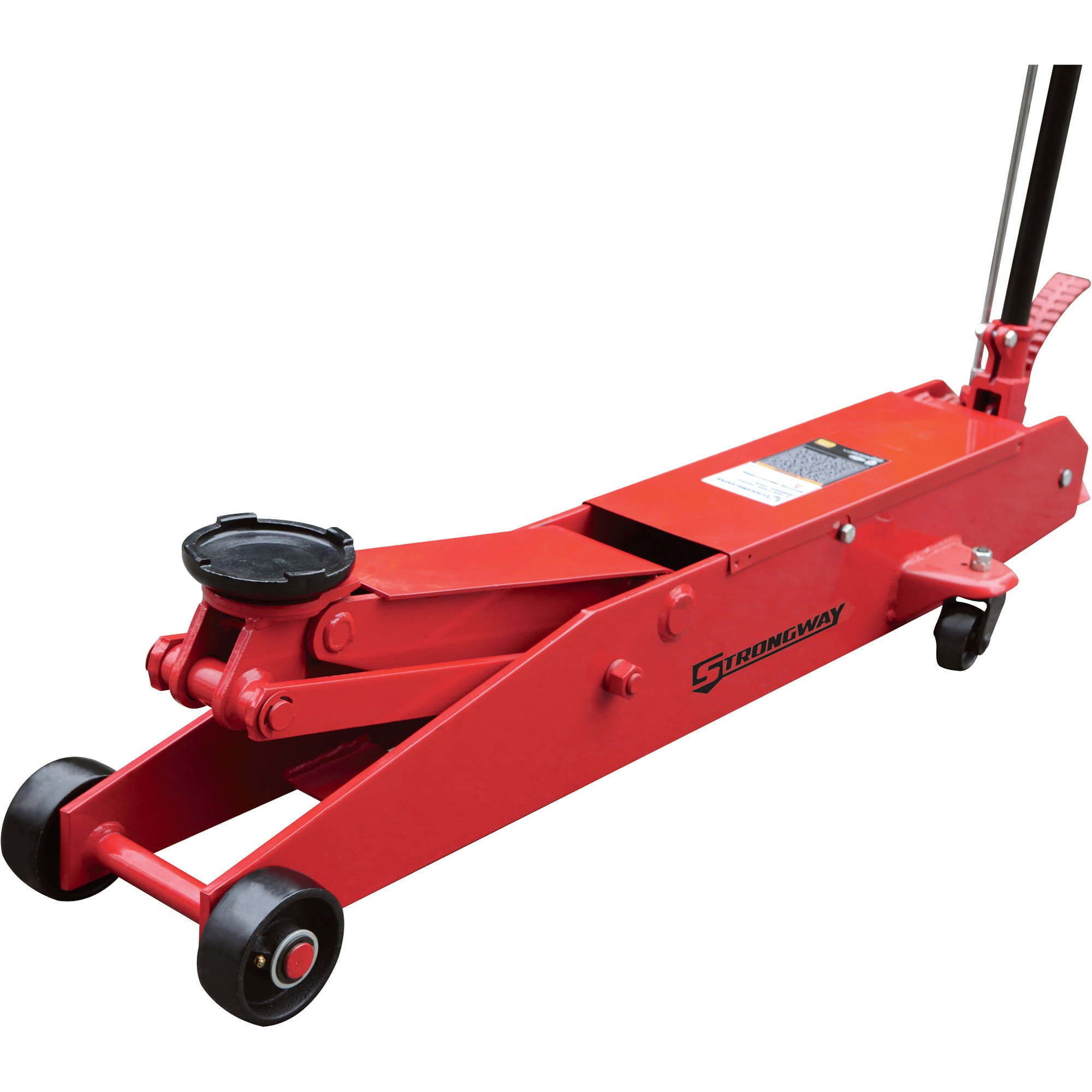 Strongway 5-Ton Hydraulic Long Frame Service Floor Jack by Strongway