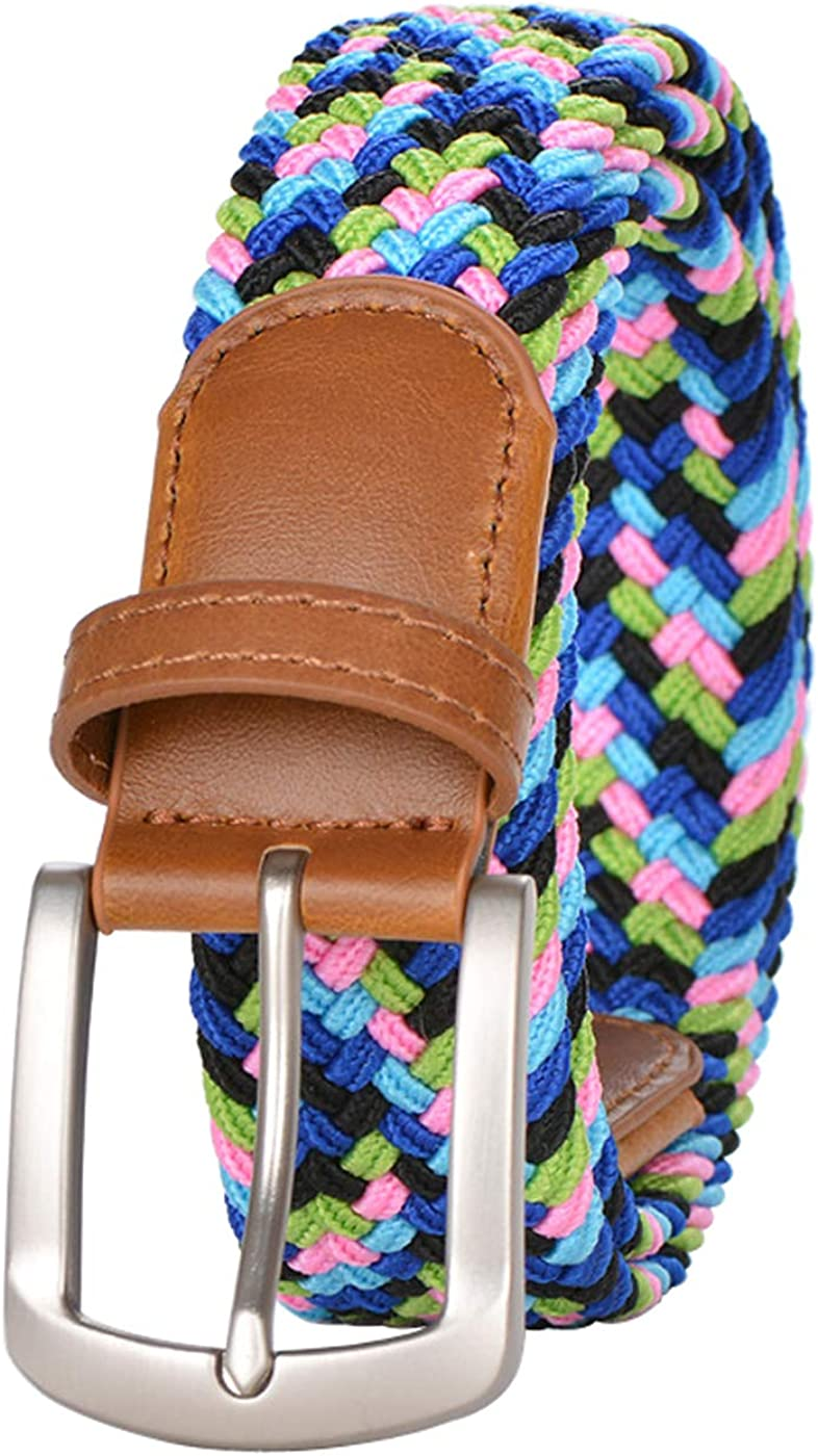 Braided Elastic Belts Men...