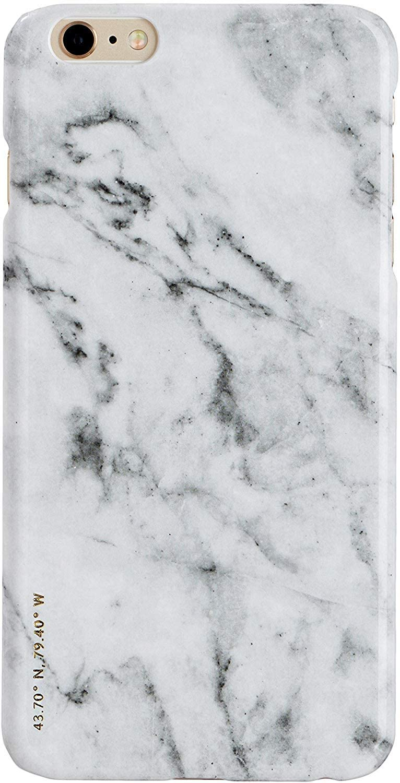 FELONY CASE iPhone 6 6s Case, White Polished Marble Sleek Stylish Protective Case for iPhone 6 6s (4.7 inch) (White Polished Marble)