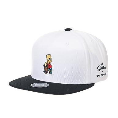 WITHMOONS Gorras de béisbol Gorra de Trucker Sombrero de The Simpsons Cap Bart Simpson Skateboard Snapback