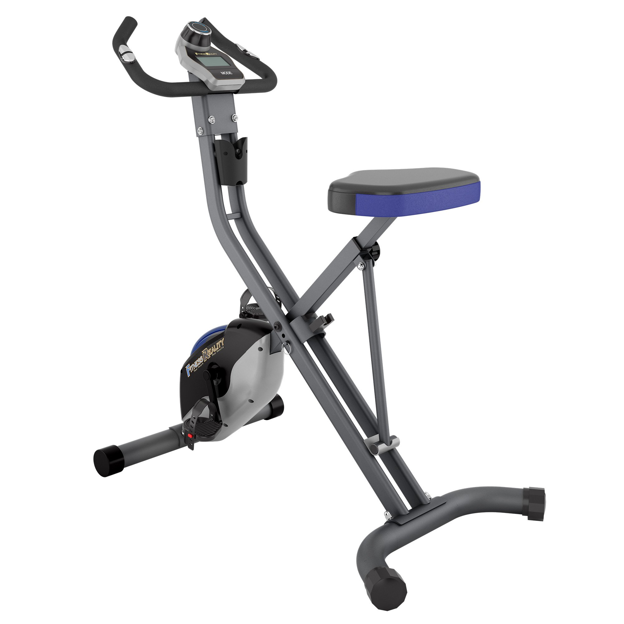 Fitness Reality U2500 Super Max Foldable Magnetic Upright Bike, 400 Lbs by Fitness Reality (Image #2)
