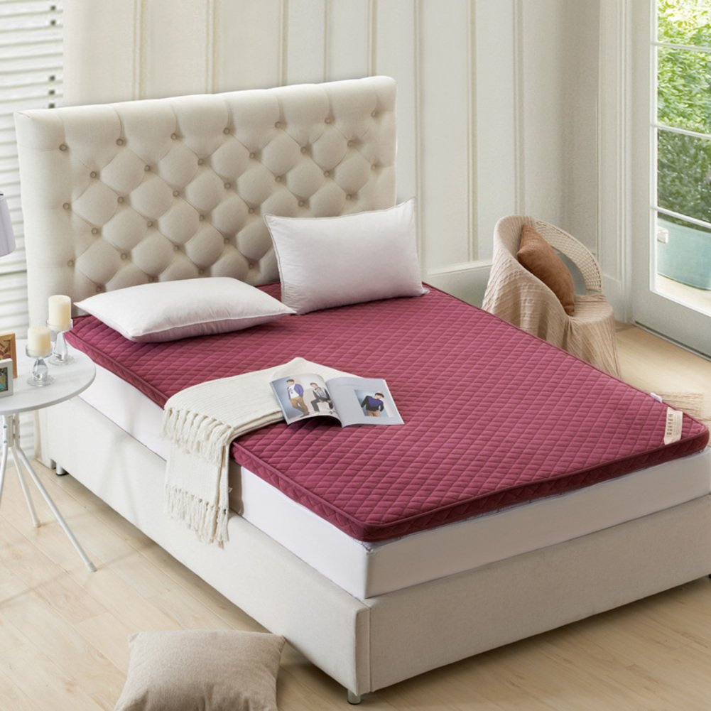 tatami mattress/thick bed pad/ single pad/ mat/ mattress-D 120x200cm(47x79inch)