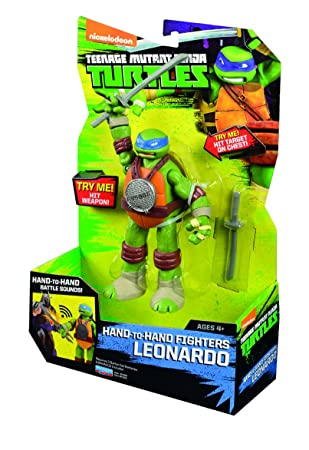 Tortugas Ninja Fig.Hand to hand c/sonido: Amazon.es ...