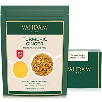 VAHDAM Natural Turmeric Tea