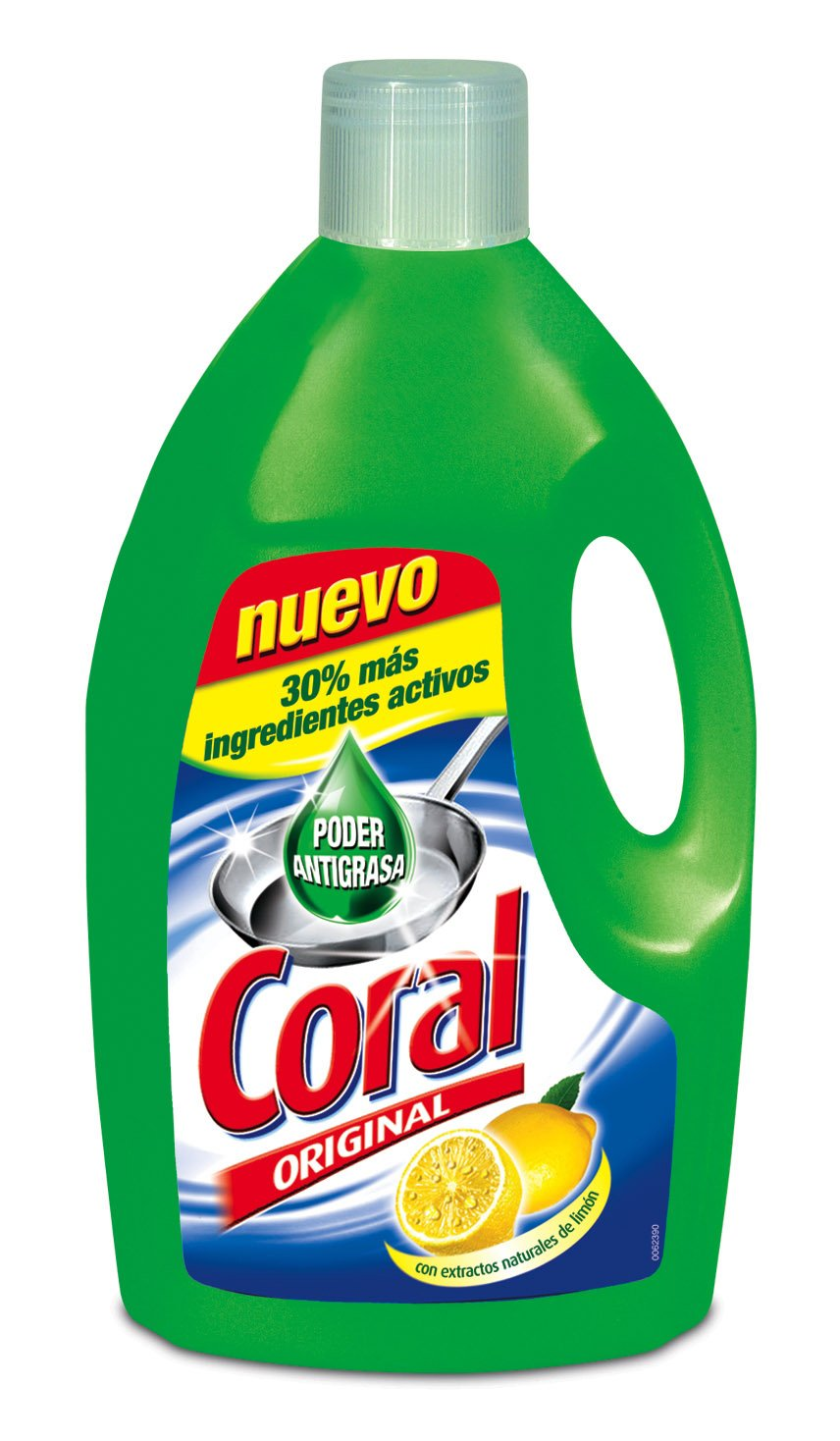 Coral Lavavajillas Manual - 3000 ml: Amazon.es: Amazon Pantry
