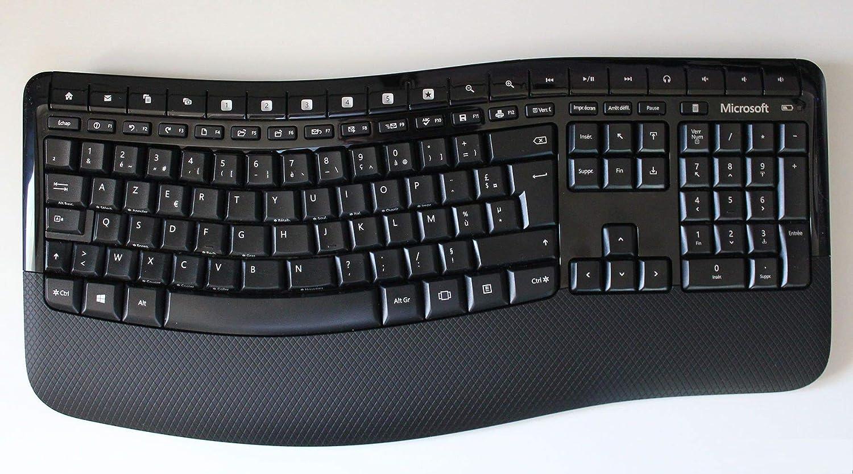 Microsoft Wireless Comfort Desktop 5050 - Teclado