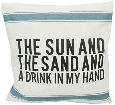 Newport Layton Home Fashions Sun And Sand Knife Edge Pillow With