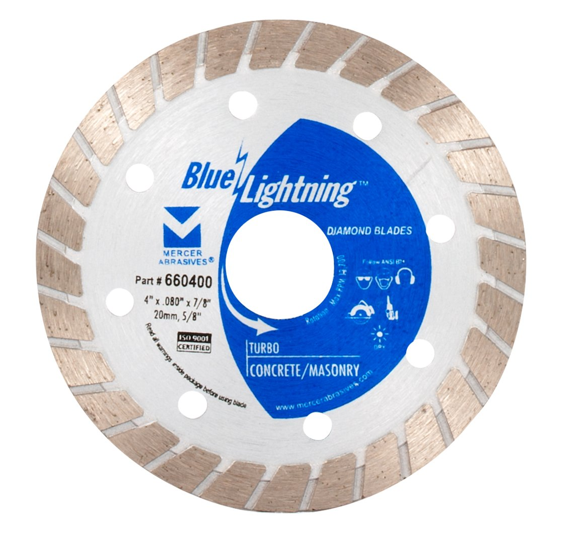 Disco De Diamante Mercer Turbo Blue Lightning 660400 4 Pulg.