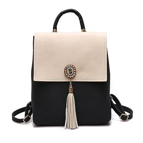 f440c78f4d45 Paddy Meredith Tassel Women Small Backpack Pu Leather Women S Backpack  Fashion Shoulder Bag Female Backpack Cute
