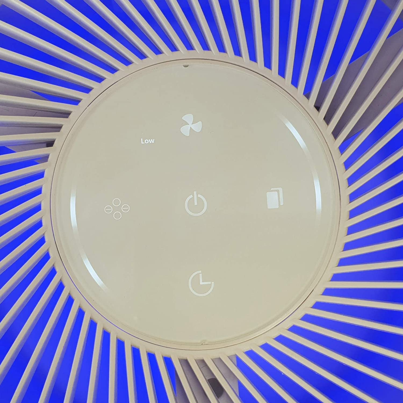 ultraleise Nachtmodus und 6 Stufen Reinigung Wei/ß mit Feinstaubsensor Marreal AP3001 HEPA Luftreiniger bis 60m/² Partikelanzeige