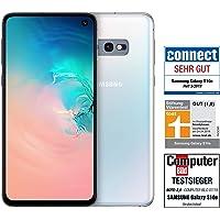 Samsung Galaxy S10e Smartphone (14.7cm (5.8 Zoll) 6GB interner Speicher, 128GB RAM, Dual SIM, Prism White) Deutsche Version