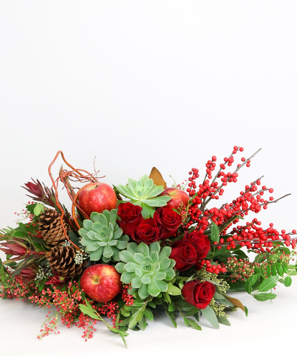 Allen's Flowers & Plants - Woodland Succulent Centerpiece - Deluxe - Fresh and Hand Delivered - San Diego County