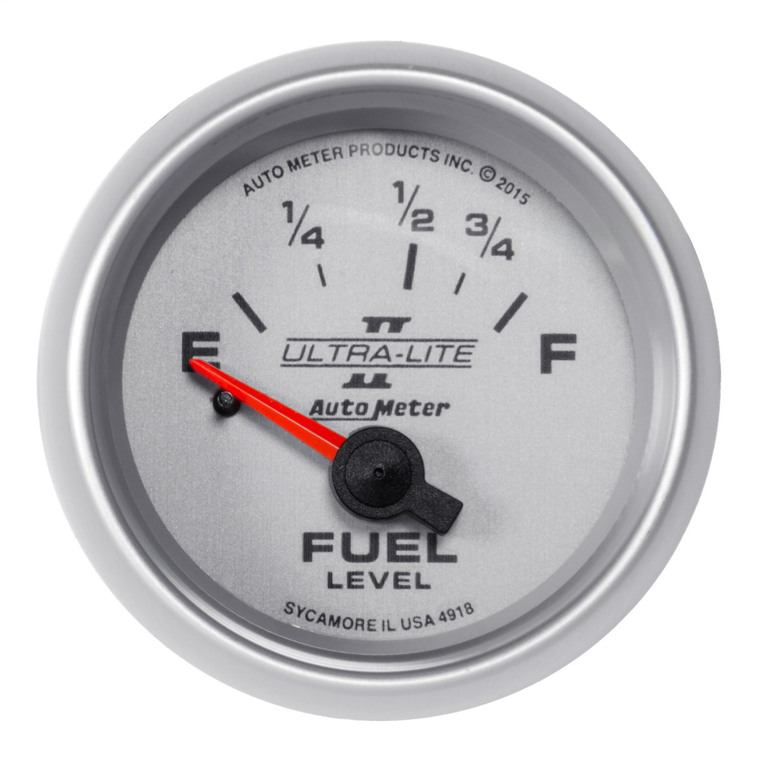 Auto Meter 4918 Fuel Level Gauge 2 116 16Oe to 158Of Elec Ultra-Lite Ii