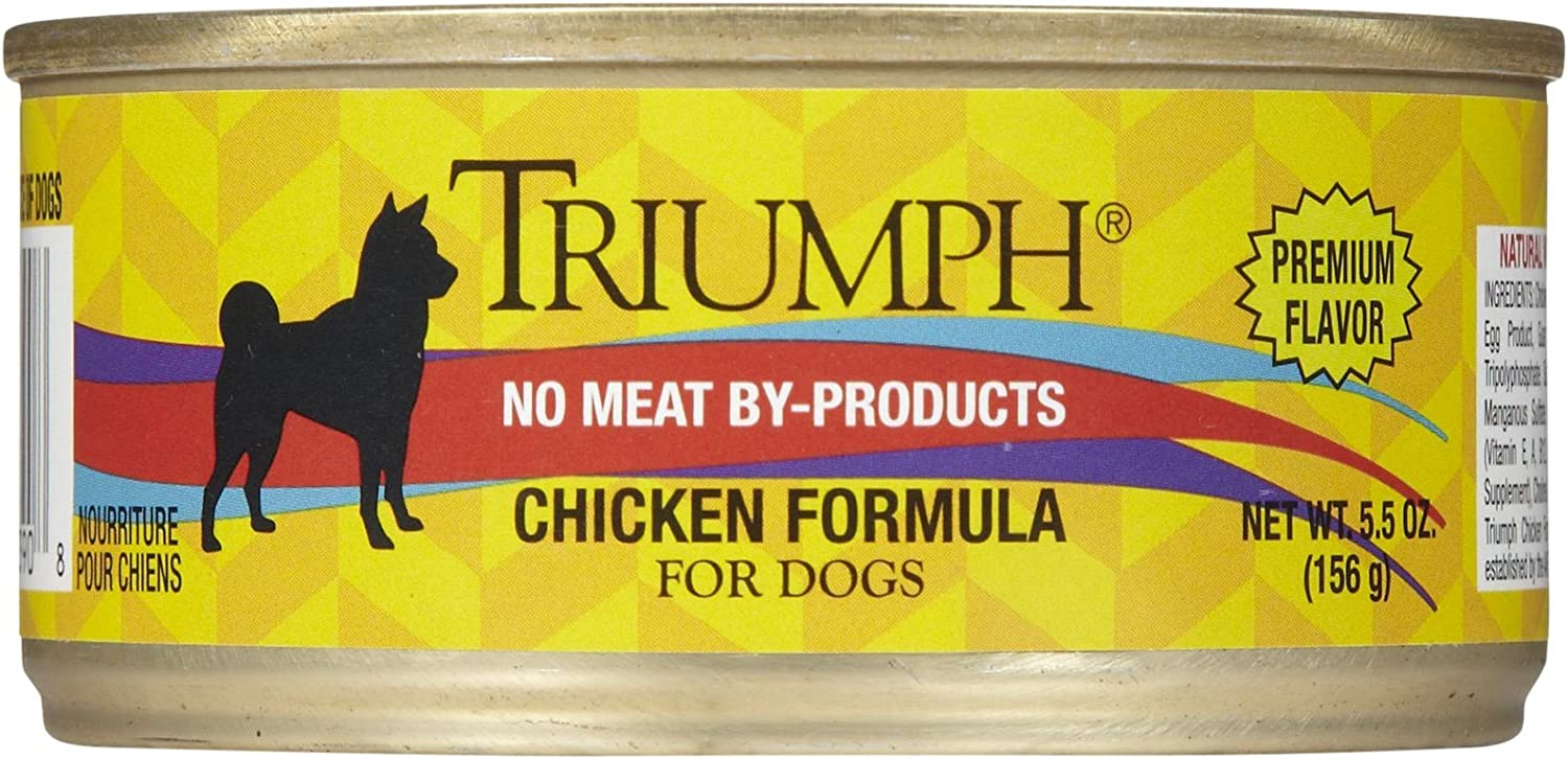 Triumph Chicken Dog Food - 24X5.5Oz
