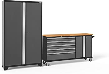 2-Piece NewAge Products Bold 3.0 Cabinet Set