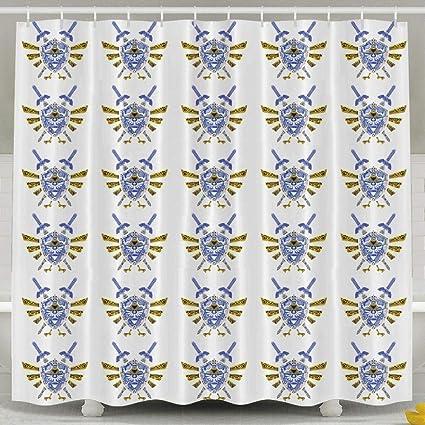 Noble Shop Legend Of Zelda Shower Curtain