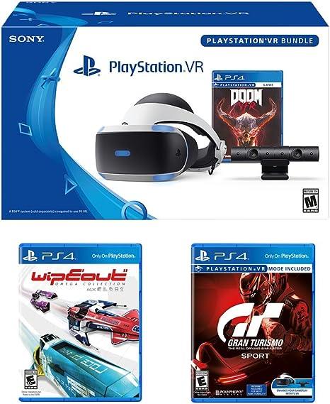 PlayStation VR Racing Bundle (4 artículos): PlayStation VR ...