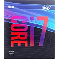Intel Core i7-9700F Desktop Processor 8 Core Up to 4.7 GHz Without Processor Graphics LGA1151 300 Series 65W